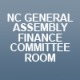 NC General Assembly Finance Committee Room