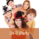 Listen to 24-7 Pop Party free online radio