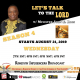 Let's Talk To The Lord Gospel Radio Station